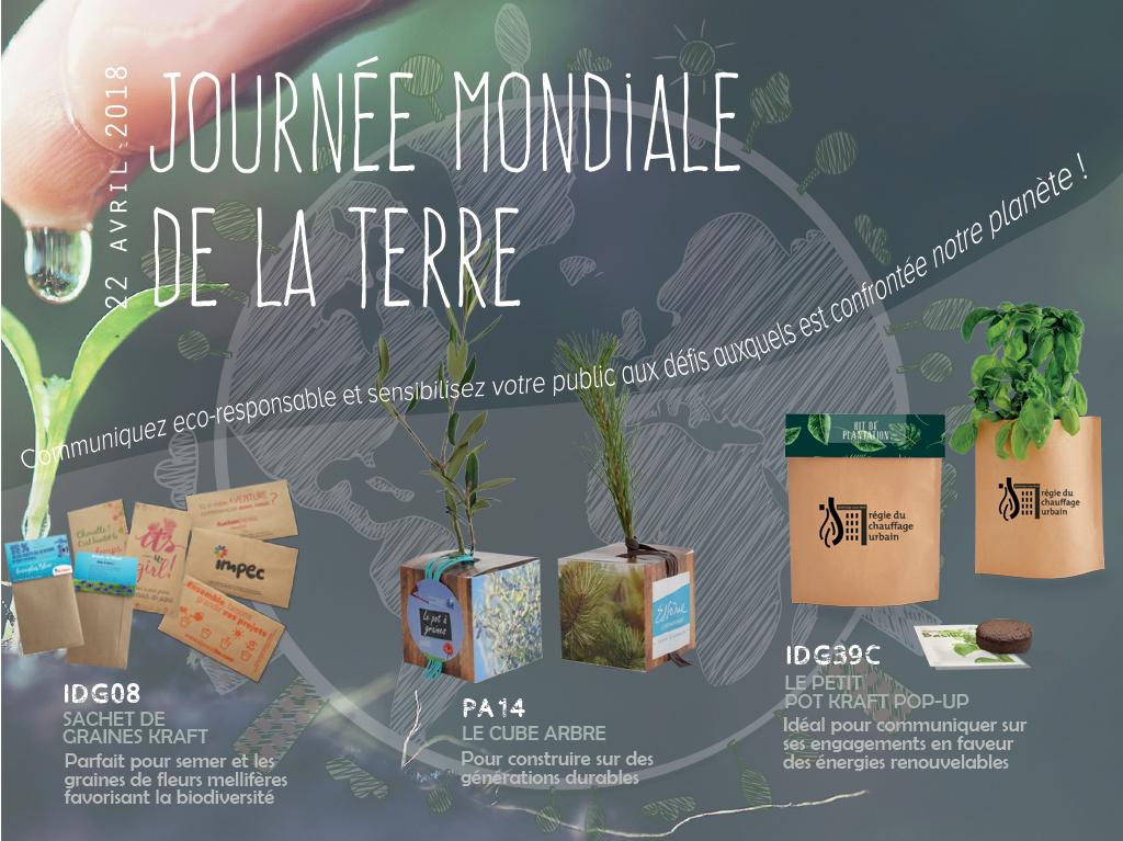 MAILING: JOURNÉE MONDIALE TERRE